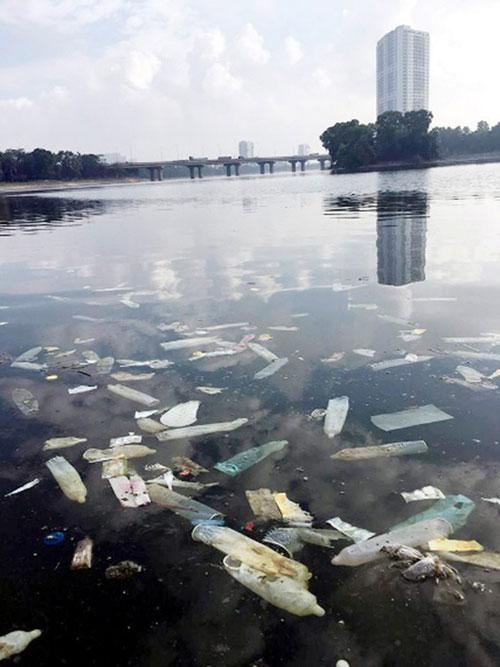 """Sông hồ Hà Nội: Những """"lá phổi"""" chết giữa Thủ đô - 10"""