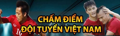 Chấm điểm ĐT Việt Nam: Hoàng – Xuân – Vinh lập đại công - 1