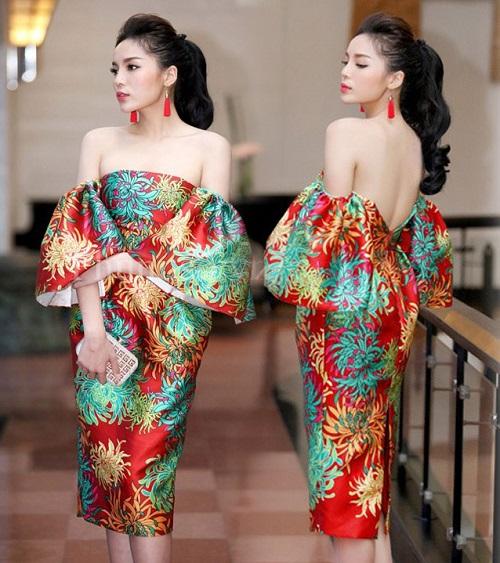 Hoa hậu Kỳ Duyên liên tiếp mặc táo bạo sau khi Nam tiến - 4