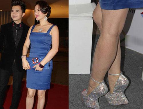 """Chiêm ngưỡng loạt giày """"độc dị"""" nhất của kiều nữ Việt - 2"""
