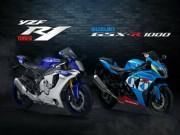 Thế giới xe - Suzuki GSX-R1000 so găng với Yamaha YZF-R1