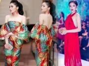 Thời trang - Hoa hậu Kỳ Duyên liên tiếp mặc táo bạo sau khi Nam tiến