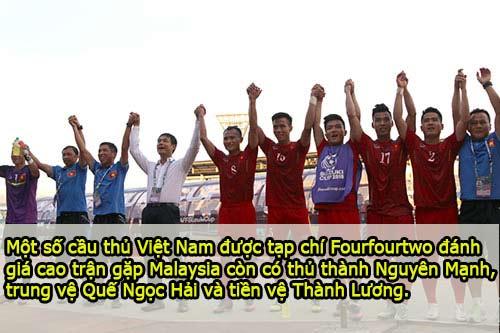 Chấm điểm ĐT Việt Nam: Hoàng – Xuân – Vinh lập đại công - 7