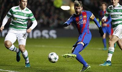 Chi tiết Celtic - Barcelona: Messi bỏ lỡ hat-trick (KT) - 3