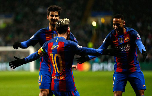 Celtic - Barcelona: Đẳng cấp hai siêu sao - 1