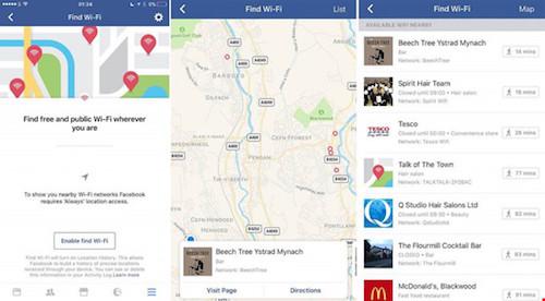 Facebook gợi ý các điểm kết nối Wi-Fi miễn phí - 1