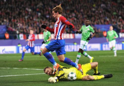 "Atletico - PSV: ""Tiêu diệt"" sau giờ nghỉ - 1"