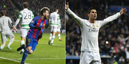 Tỏa sáng trước Celtic, Messi áp sát kỷ lục của Ronaldo - 1