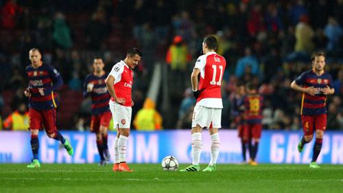 Cúp C1, Arsenal nguy cơ nhì bảng: Ác mộng hiện về - 2