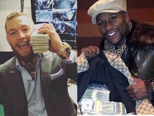 "McGregor khoe tiền, Mayweather vác cả gia tài ""dọa nạt"" - 2"