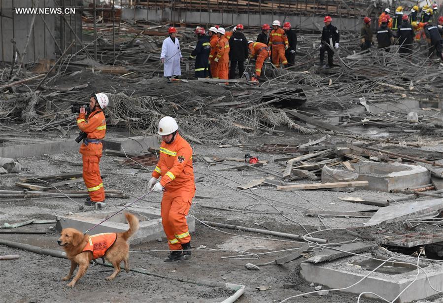 Sập giàn giáo ở Trung Quốc khiến 40 người tử nạn - 4