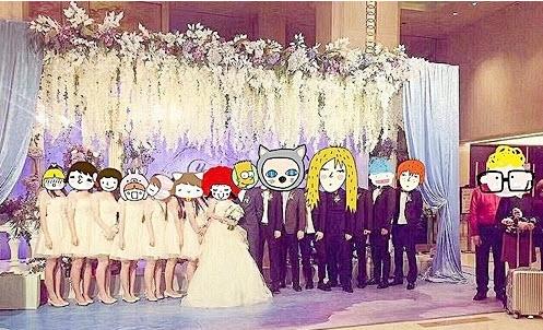 Phì cười với quà cưới bất ngờ trong đám cưới trăm tỷ - 4
