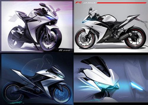 Yamaha R25 thay đổi nhỏ giọt trong phiên bản 2017 - 2