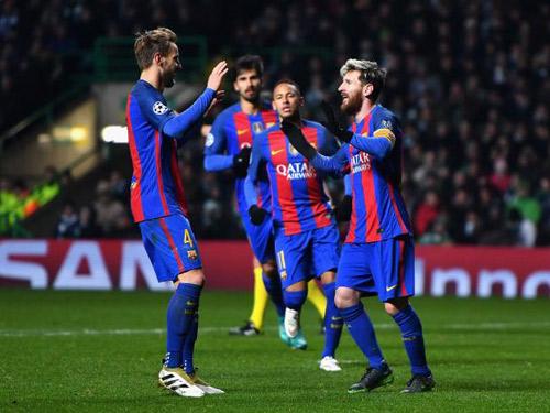 Barca thắng trở lại: Có Messi là có tất cả - 2