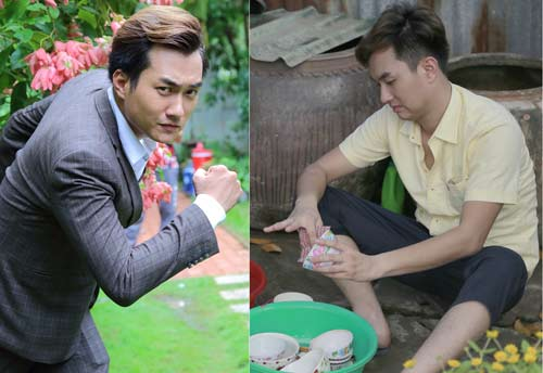 """Phạm Anh Tuấn được vợ Lương Thế thành """"cưng như trứng mỏng"""" trong phim - 1"""