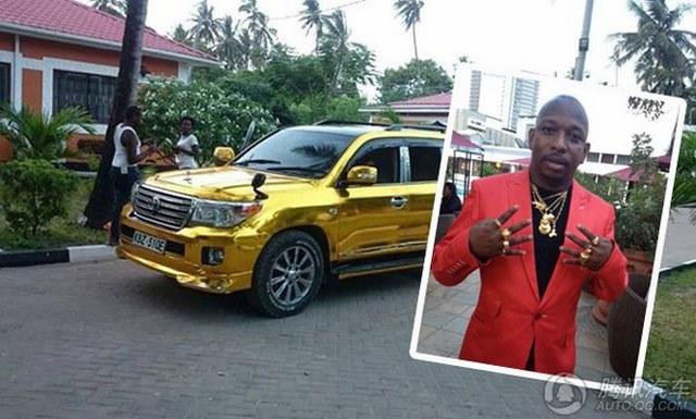 """Đại gia mê vàng chơi sang """"vượt mặt"""" Tổng thống Kenya - 3"""