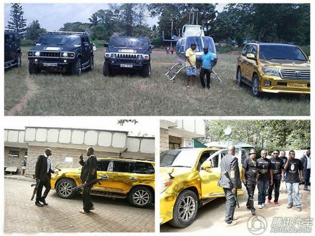 """Đại gia mê vàng chơi sang """"vượt mặt"""" Tổng thống Kenya - 2"""