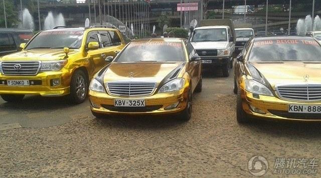 """Đại gia mê vàng chơi sang """"vượt mặt"""" Tổng thống Kenya - 8"""