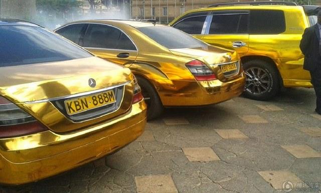 """Đại gia mê vàng chơi sang """"vượt mặt"""" Tổng thống Kenya - 6"""