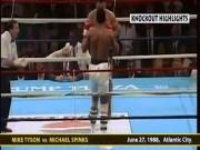"""Thể thao - 6 knock-out: 27 năm ngày Mike Tyson """"san bằng tất cả"""""""