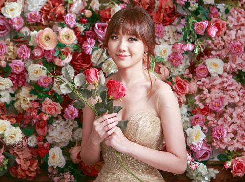 Hari Won quá xinh đẹp với vai cô dâu - 1