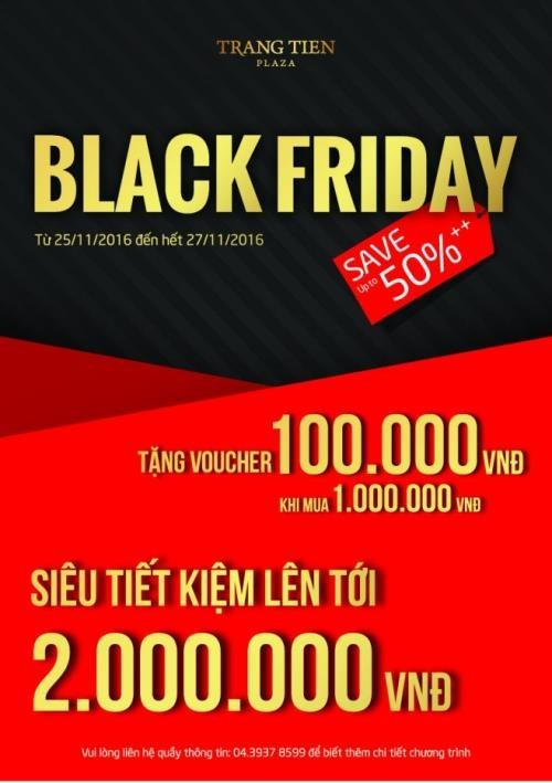 """Black Friday Việt Nam: Những địa chỉ giảm giá """"khủng"""" - 4"""