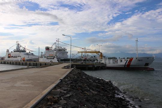 Chiêm ngưỡng 2 tàu cảnh sát biển hiện đại ở Khánh Hòa - 1