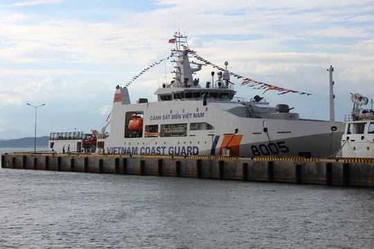 Chiêm ngưỡng 2 tàu cảnh sát biển hiện đại ở Khánh Hòa - 2