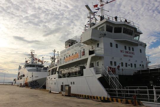 Chiêm ngưỡng 2 tàu cảnh sát biển hiện đại ở Khánh Hòa - 4