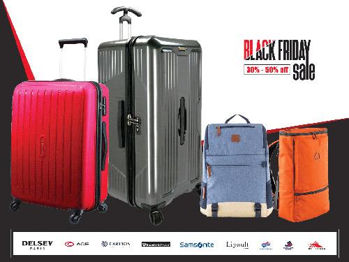 Black Friday cuồng nhiệt mua sắm vali, balo thương hiệu cao cấp - 1