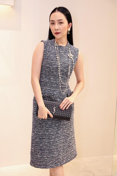 Diễm My 9X khoe vẻ xinh đẹp với váy xuyên thấu - 6