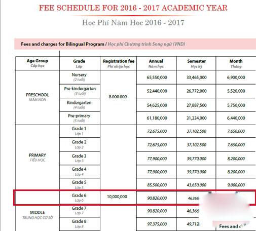 Mức học phí khác biệt của Hồ Văn Cường và Phương Mỹ Chi - 2