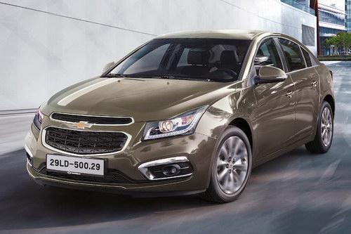 Chevrolet Cruze tại Việt Nam được nâng cấp - 1