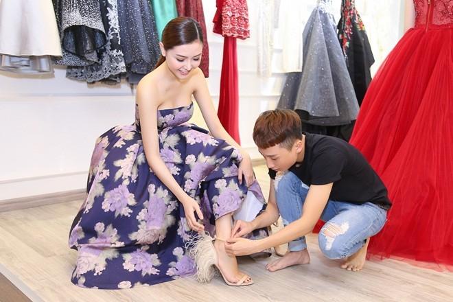 Mãn nhãn với váy áo lộng lẫy của Ngọc Duyên dự show nội y - 1