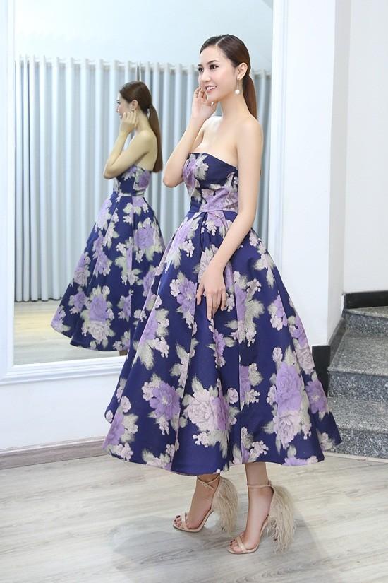 Mãn nhãn với váy áo lộng lẫy của Ngọc Duyên dự show nội y - 3