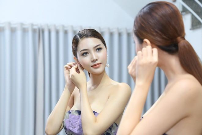 Mãn nhãn với váy áo lộng lẫy của Ngọc Duyên dự show nội y - 4