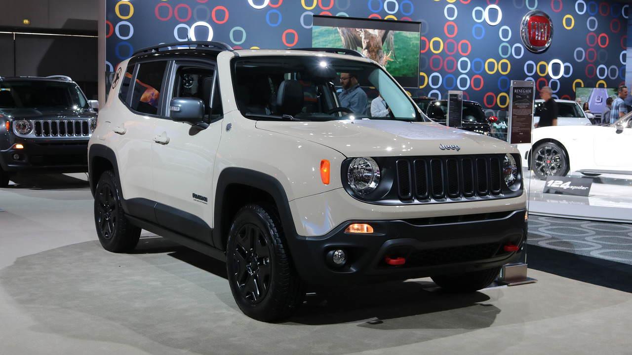 Renegade Deserthawk: Bản crossover đặc biệt của Jeep - 1