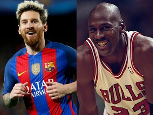 Messi là số 1 bóng đá, chỉ Jordan bóng rổ sánh ngang - 1