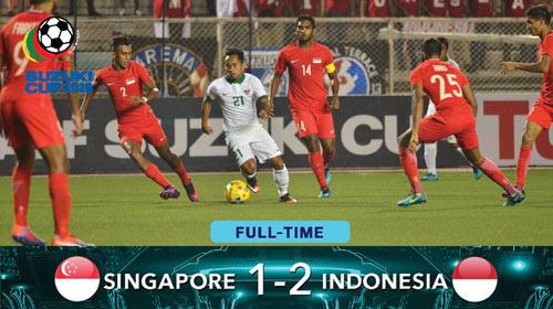 Singapore - Indonesia: Ngược dòng đầy cảm xúc (AFF Cup) - 1