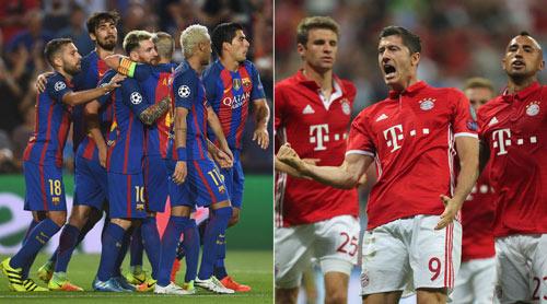 Cúp C1: Hồi hộp vì Bayern - Barca và những trận kinh điển - 1