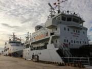 Chiêm ngưỡng 2 tàu cảnh sát biển hiện đại ở Khánh Hòa