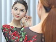 Thời trang - Mãn nhãn với váy áo lộng lẫy của Ngọc Duyên dự show nội y