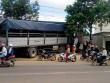 Xe tải không người lái gây náo loạn quốc lộ 26