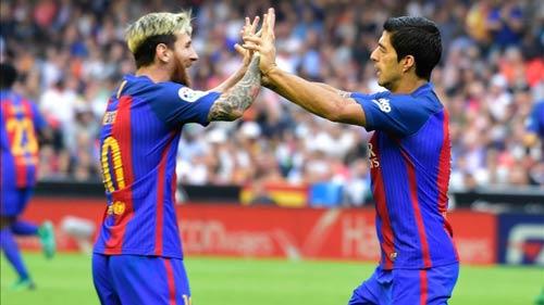 Messi gia hạn với Barca: Mấu chốt nằm ở Suarez - 1