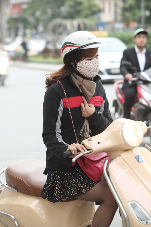 """Gái Hà Nội mặc """"trên đông dưới hè"""" trong ngày rét 15 độ - 8"""