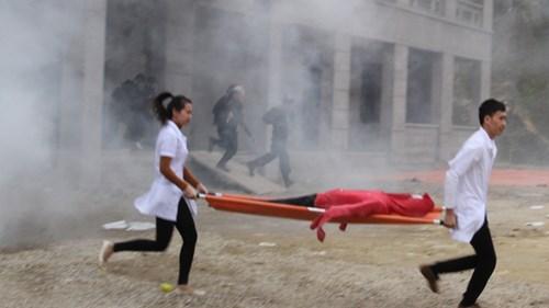 Mục kích diễn tập chống khủng bố ở Bắc Kạn - 7