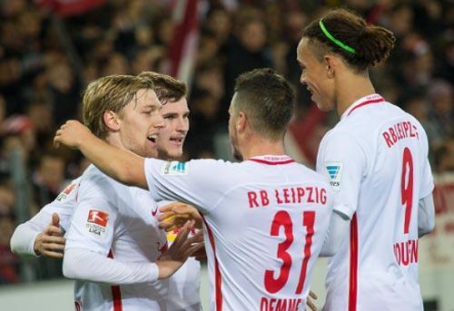 """Leipzig: """"Cổ tích"""" Leicester hay """"trọc phú"""" nước Đức? - 2"""