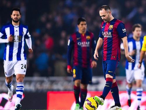 """Không giải lời nguyền, Barca """"khó sống"""" trước El Clasico - 1"""