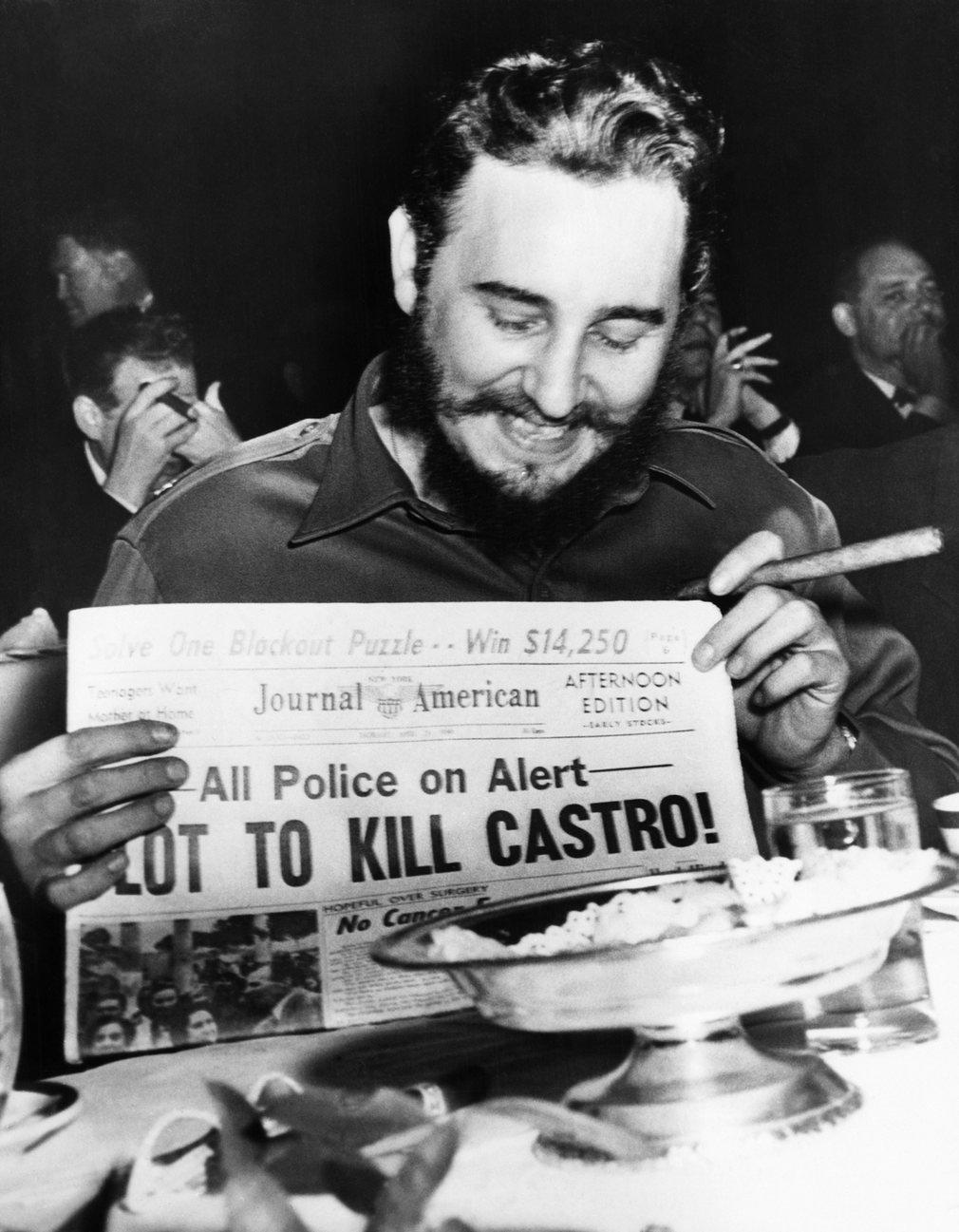 Cuộc đời oanh liệt của Fidel Castro qua 16 bức ảnh - 6