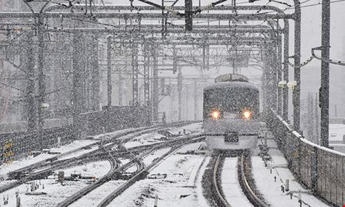 Ngắm tuyết rơi sớm tuyệt đẹp ở Nhật Bản - 7